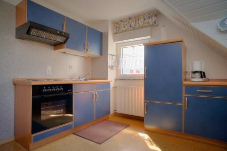 Küchenzeile mit Kühlschrank